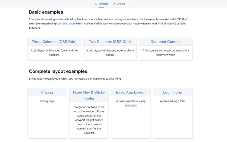 vaadin-layout-examples